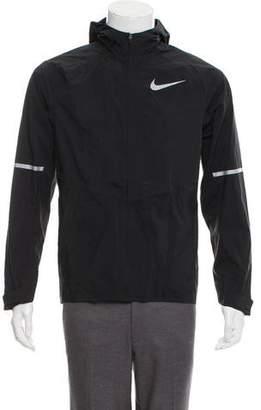 Nike Zip-Up Hooded Windbreaker