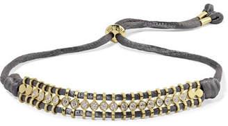 Jemma Wynne - 18-karat Gold And Diamond Bracelet