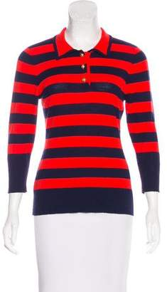 Frame Wool & Cashmere Striped Top
