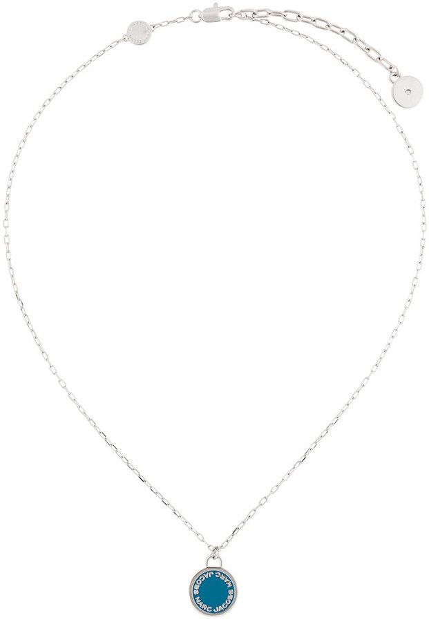 Marc JacobsMarc Jacobs logo disc pendant necklace