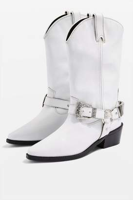 Topshop BINGO Western Boots