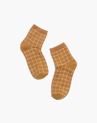 Madewell Grid Ankle Socks