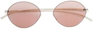 Mykita tinted round sunglasses