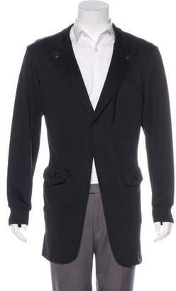 Y-3 Longline Fleece Jacket