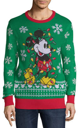 NOVELTY SEASON Ugly Christmas Mickey Mouse Sweater