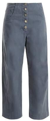 Rachel Comey - Elkin Cotton Twill Chino Trousers - Womens - Blue
