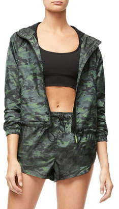 Good American Gloss Camo Jacket