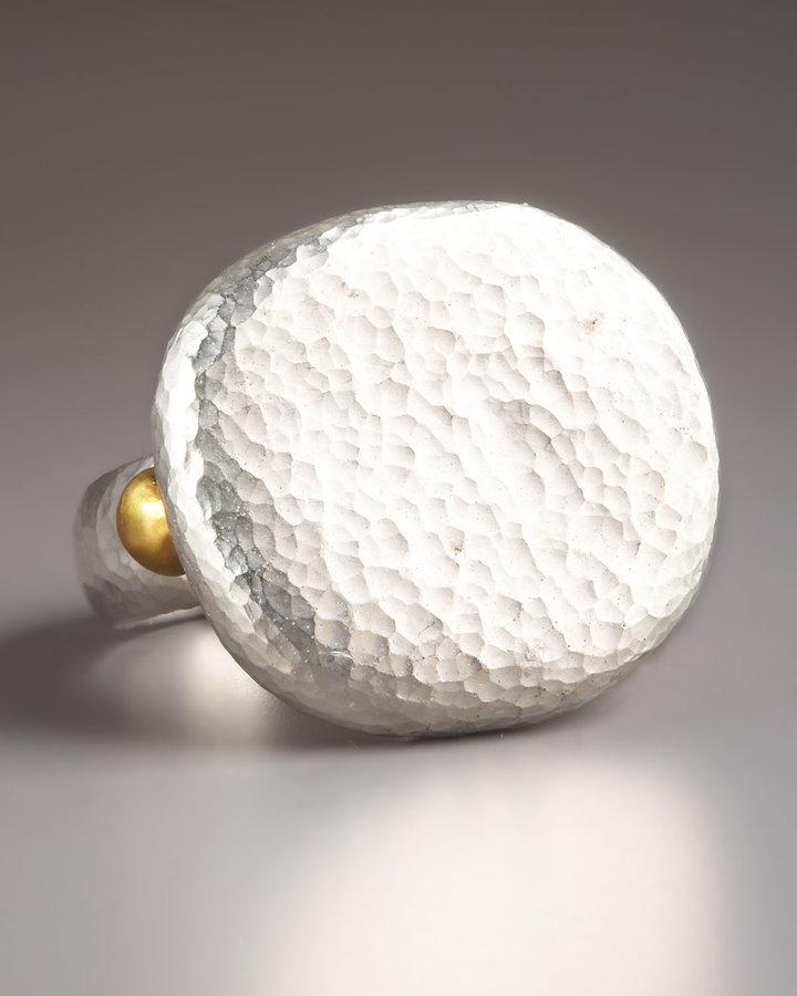 Gurhan Round Silver Ring