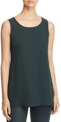 Lafayette 148 New York Silk High/Low Tunic Top