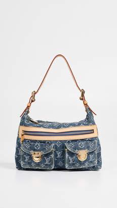 Louis Vuitton What Goes Around Comes Around Denim Baggy GM Shoulder Bag
