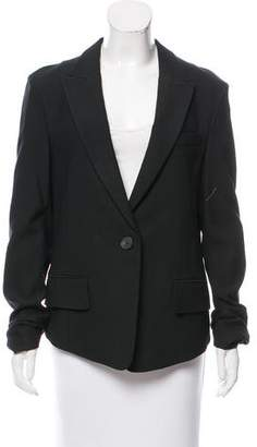 Philosophy di Alberta Ferretti Wool-Blend Peak-Lapel Blazer w/ Tags