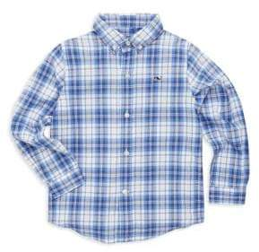 Vineyard Vines Toddler's, Little Boy's& Boy's Shoretown Plaid Shirt