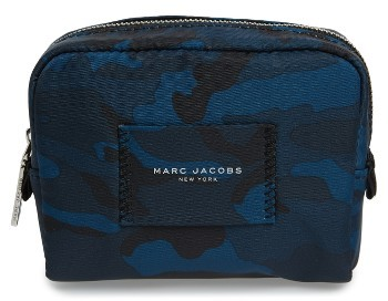 Marc Jacobs Marc Jacobs Small Camo Nylon Cosmetics Case