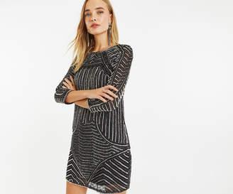 Oasis EMBELLISHED SHIFT DRESS