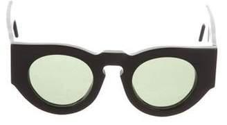 Acne Studios Round Tinted Sunglasses