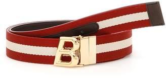 Bally Reversible B Oblique Belt