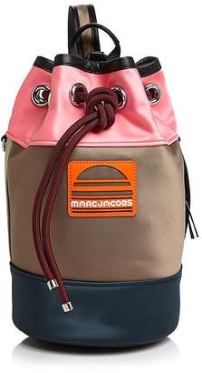 Marc Jacobs Small Drawstring Color-Block Sport Handbag