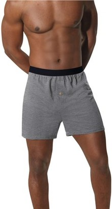 Hanes Men's Big & Tall ComfortSoft Solid Knit Boxers, 4 Pack