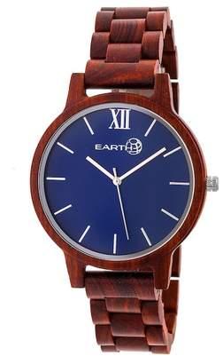 Earth Wood Men's Pike Bracelet Watch, 45mm