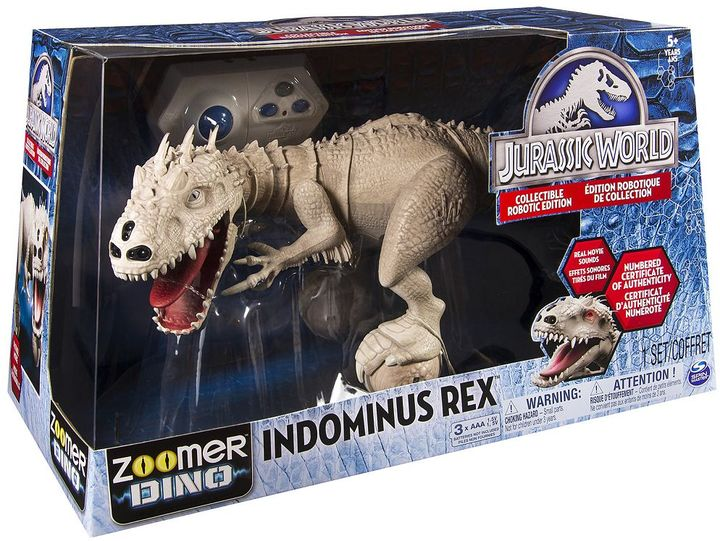 Zoom pets Jurassic World Zoomer Dino Indominus Rex Collectible Robotic Edition by Zoom Pets