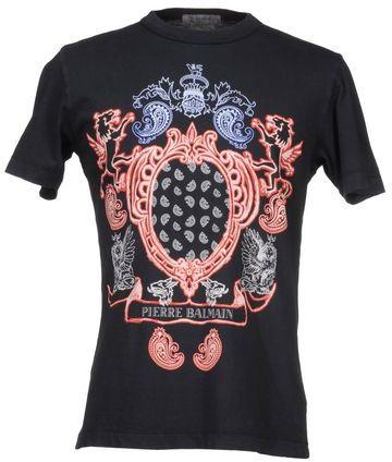 Balmain PIERRE Short sleeve t-shirt