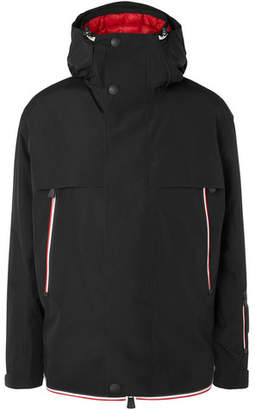 Moncler Miller Stretch-Twill Hooded Down Ski Jacket