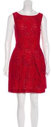 Roland Mouret Embroidered A-line Dress