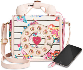Betsey Johnson Mini Phone Crossbody $88 thestylecure.com