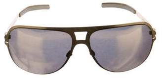 Bernhard Willhelm Mykita & Andreas Mirrored Sunglasses