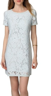 Women's Donna Morgan Lace Shift Dress $98 thestylecure.com