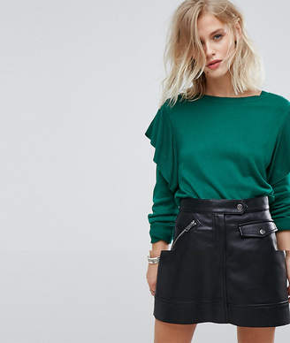 Only Frill Sleeve Sweater