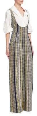 Rosie Assoulin Scoop Stripe Jumpsuit