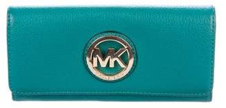 Michael Kors Michael Grained Leather Continental Wallet