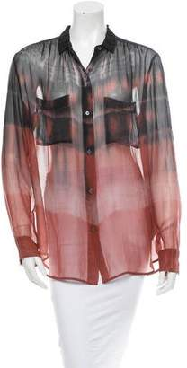 Raquel Allegra Silk Top