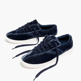 Madewell x Tretorn® Nylite Plus Sneakers in Velvet $85 thestylecure.com