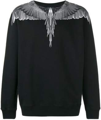 Marcelo Burlon County of Milan wings crewneck sweatshirt
