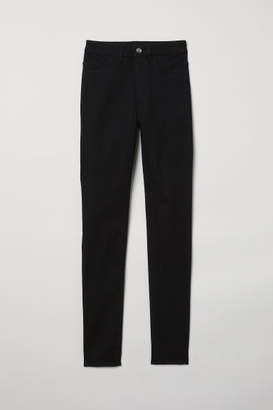 H&M Super Skinny High Jeans - Black