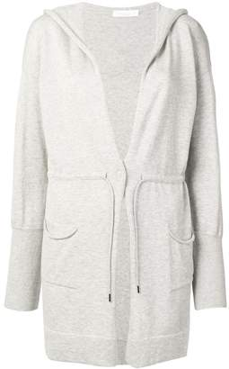 Fabiana Filippi hooded longline cardigan