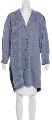 Rachel Comey Tweed Knee-Length Coat