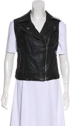 MICHAEL Michael Kors Quilted Leather Vest