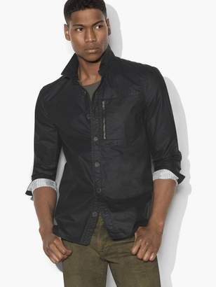Military Shirt Jacket $298 thestylecure.com