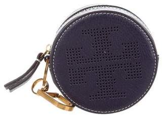 Tory Burch Leather Coin Purse Keychain w/ Tags