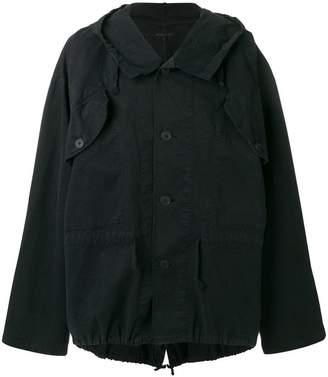 Ann Demeulemeester lightweight hooded jacket