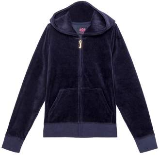 Juicy Couture Velour Swooping Swallows Robertson Jacket for Girls