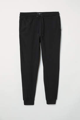 H&M Slim Fit Sweatpants - Black