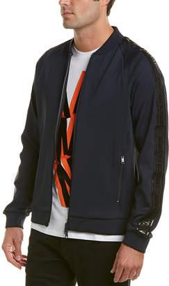 Armani Exchange Logo Taping Bomber Jacket