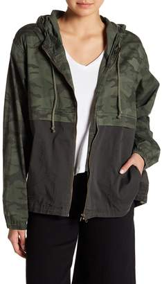 SUPPLIES BY UNION BAY Blaine Hooded Camo Jacket