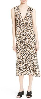 Women's Equipment Connery Silk Shift Dress $318 thestylecure.com