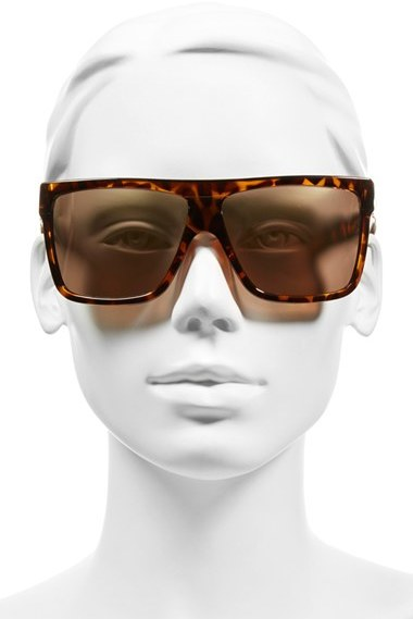 Women's Quay Australia 'Barnun' 60Mm Sunglasses - Black / Smoke Lens 2