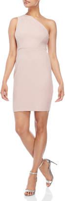 Vince Camuto Glitter One-Shoulder Sheath Dress